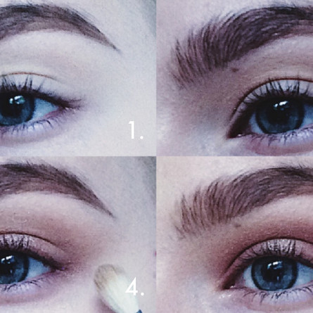 Chocolate brown smoky eye – makeup tutorial