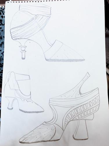 Cinderella sketches