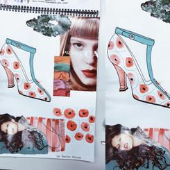 Moodboard – Pattern on a shoe