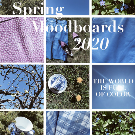 The World Is Full Of Color – Spring Moodboards 2020