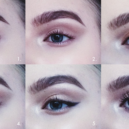 The classic makeup look – Ready to hit a stardust road?