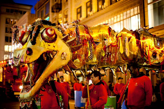 Daisy the Dragon for SF annual Chinese New Year Parade