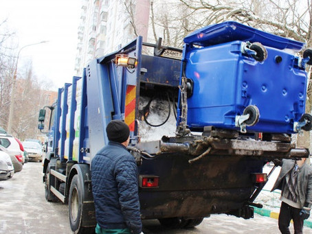 Тарифы на вывоз мусора в 2021 году вырастут в среднем на 4%