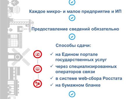 Мосстат проведет экономическую перепись малого бизнеса