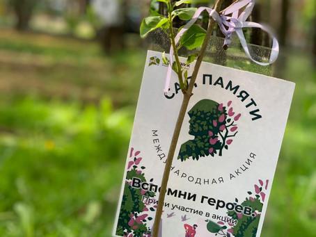 В Химках проходит акция «Сад памяти».