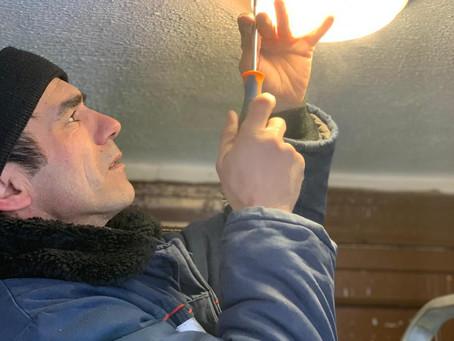 По адресу: ул. Мичурина д. 23 произвели замену светильников на светодиодные.