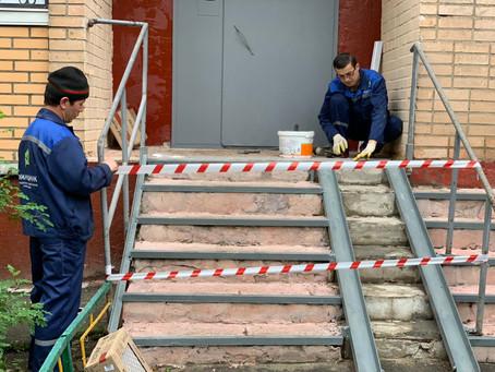 По адресу: Юбилейный проспект д. 51 начался локальный ремонт...