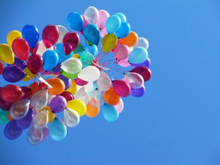 Принят запрет на запуск в небо воздушных, гелиевых шаров...