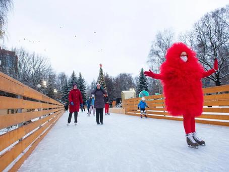Сезон любителей коньков открыли в Химках.