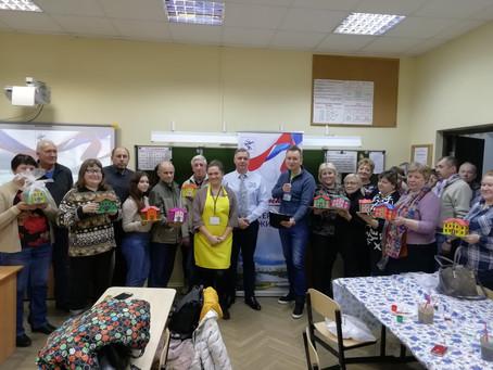 Спасибо жителям мкр. Фирсановка, принявших участие в нашем мастер-классе.