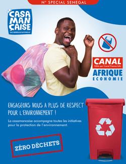 CASA • CANAL AFRIQUE ECONOMIE • 200x260MM