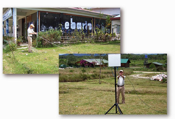 The Affordable Wireless Connectivity Project for Rural Community Bario, Kelabit Highland.