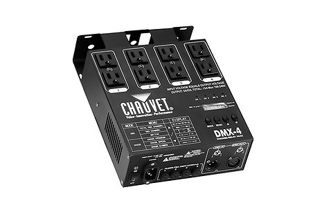 Chauvet-DMX4-dimmer-relay-pack-lighting-