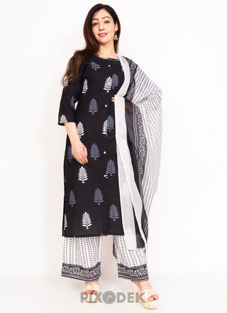 Catalog design for online sales. Model wearing Salwar suit dupptta and the background behind is white paper.