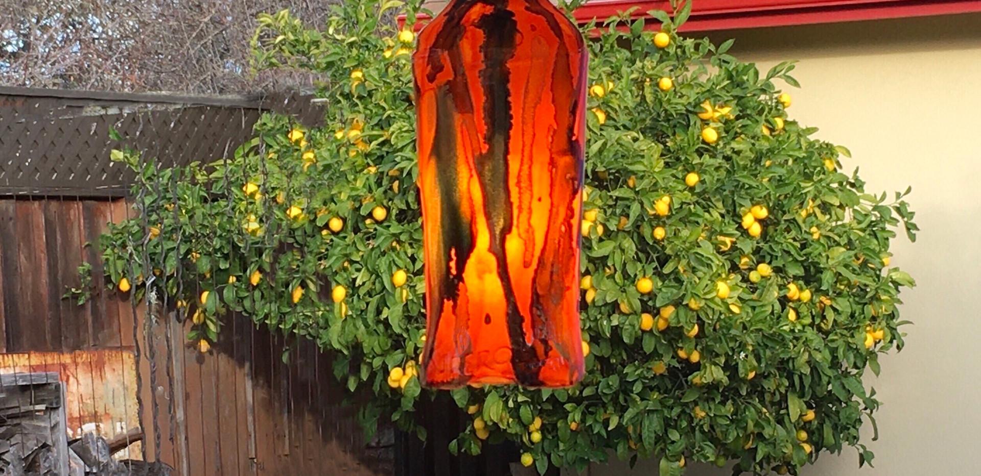 Aperol Bottle Lamp
