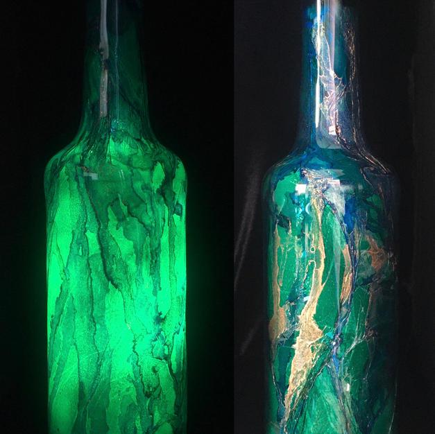 Texture Blue-Green