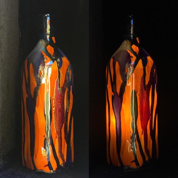 Bushmills Bottle Lamp
