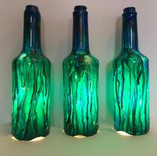 Tri-set in blue & green