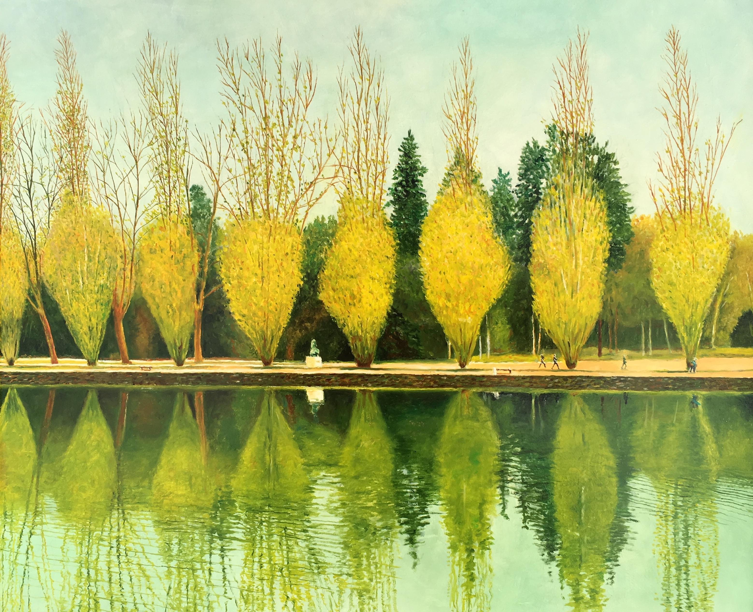 Reflections of Parc du Sceaux