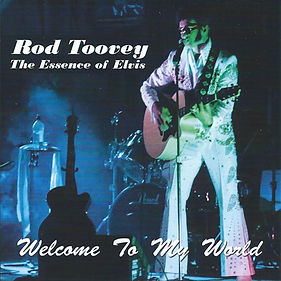 Rod Toovey welcome to my world cd