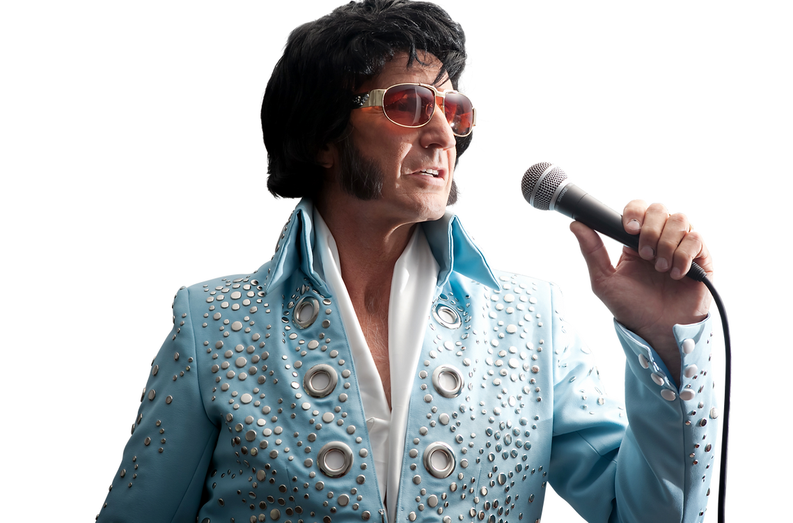 Elvis impersonator Moruya