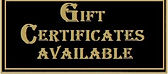 Gift Certificate Available