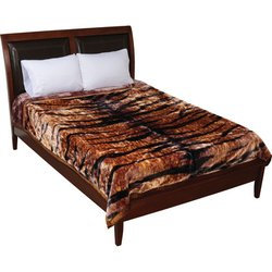 Wyndham House™ Tiger Print Heavy Luxury Blankets