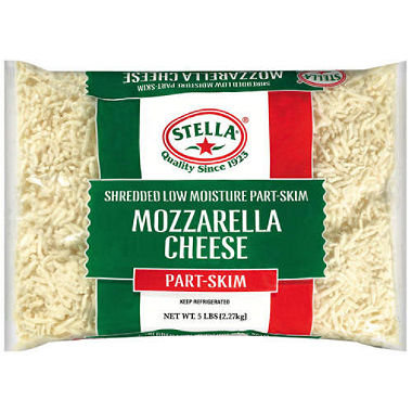 5# Mozzarella Cheese (Shredded)