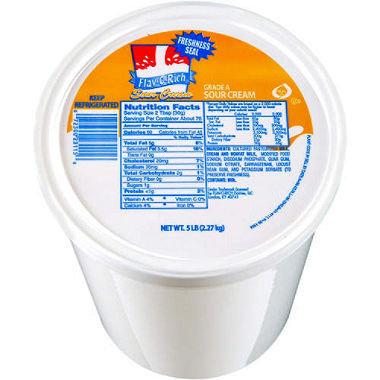 5 Pounds Sour Cream