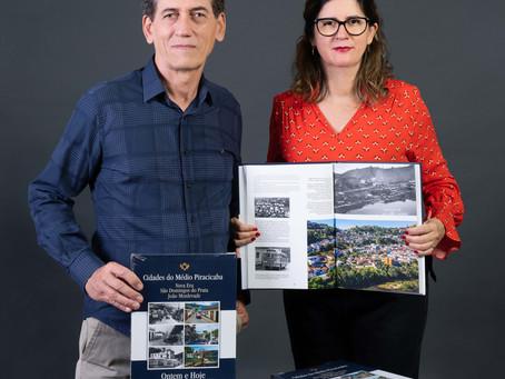 Livro histórico e fotográfico sobre cidades do Médio Piracicaba é lançado na região