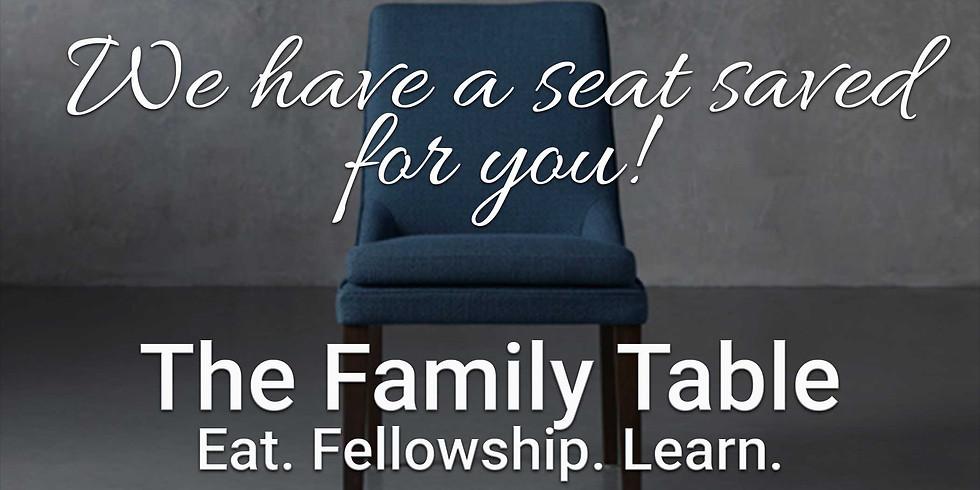 January Family Table