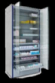 Smart cabinet - armoire électronique pour dispositifs médicaux