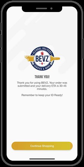 bevz alcohol delivery app