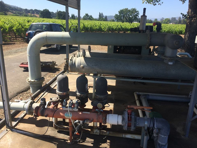 Winery pump project