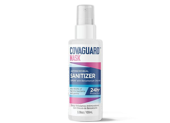 CovaGuard™ Mask Antimicrobial Sanitizer (Spray) - 3.3 oz