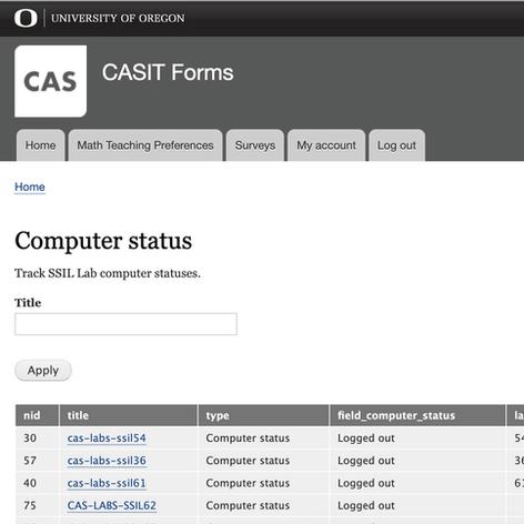 CASIT Forms