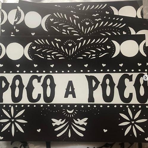 Papel Poco A Poco Postcard