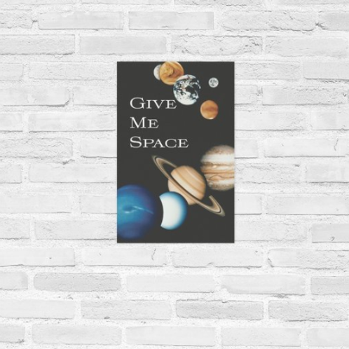 Give Me Space Poster