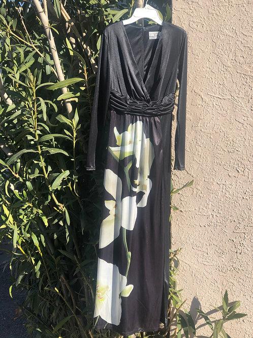 Calla Lily Formal Maxi Dress
