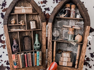 Latinx AF Interview: The Macabre Miniature World of Brujerias Shop Owner  Kirsten Castaneda-Wolniewi