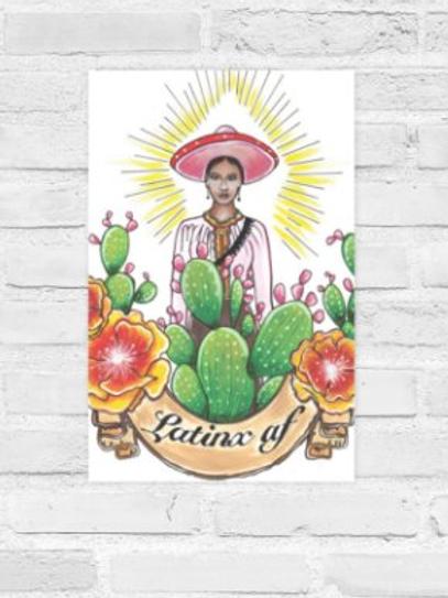 Latinx AF Poster