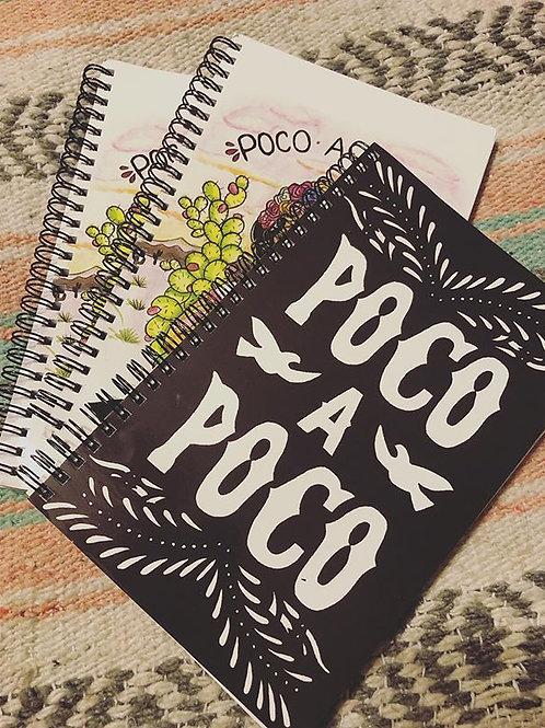 Poco A Poco Papel Notebook