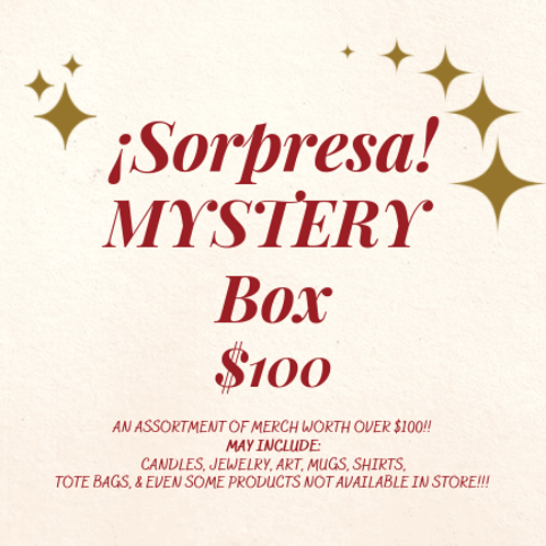 Sorpresa Mystery Box- $100