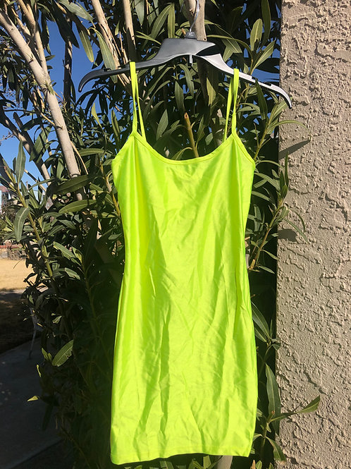 Neon Lemon Lime Dress