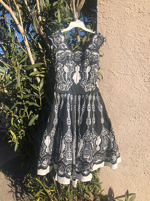 50s Style Sequined Dress