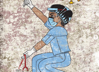 Latinx AF Feature: Qetza Art Azteca Frontline Warriors
