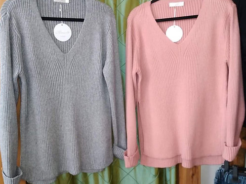 Ribbed jumpers, 4 colours