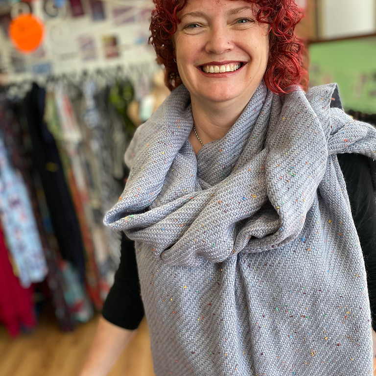 WINTER Scarf and Wrap - workshop