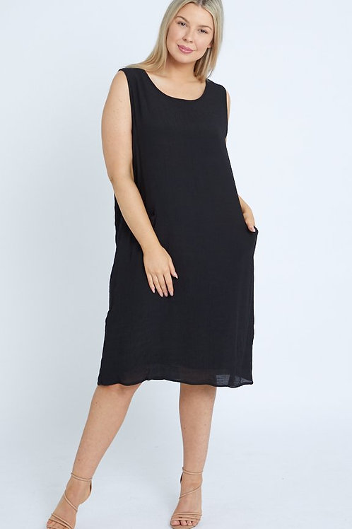 Basic ShiftDress - with pockets