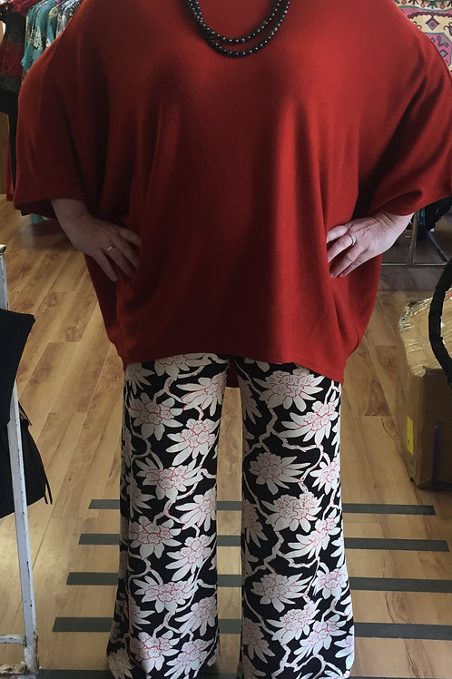 Flare ' soft top' pants